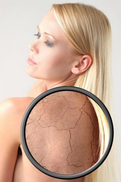 Wpływ twardej wody na skórę